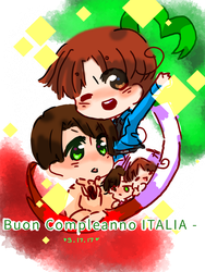 - 3/17/17 - Buon Compleanno - by P-inko
