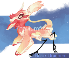 Rose Unicorn by NebNomMothership