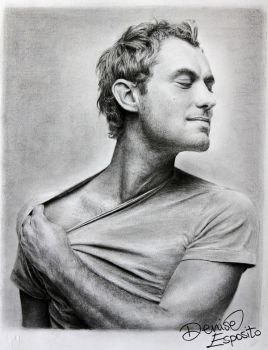 Jude Law by DeniseEsposito