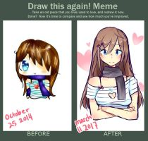 Draw this again [Meme] by strawberry-dove
