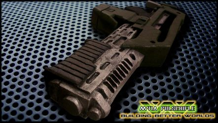 M41A Pulserifle 3.1 ( WiP ) by Saskeks