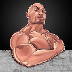 The Rock by rone913