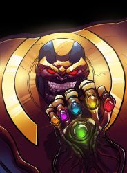 Thanos by guillo0
