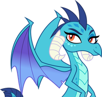 Vector #840 - Ember #6 by DashieSparkle