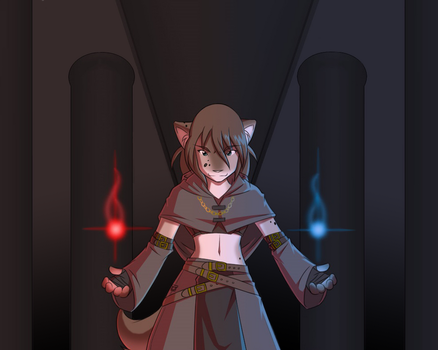 Kathrin: The Archmage by Twokinds by LW-Reload-State