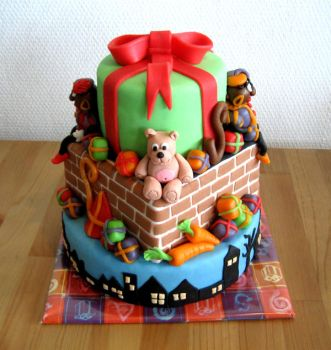Dutch Holidays cake by Naera