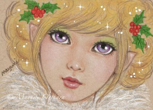 Glitter and Sparkles - sketch by MayumiOgihara