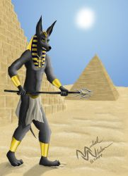 Protector of the Tomb by IkodoMoonstrife