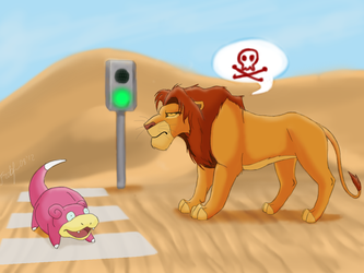 Make way for the king... Or no? by FrolJoker