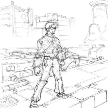 Fanart  - StormKing WIP by Paper-Domino
