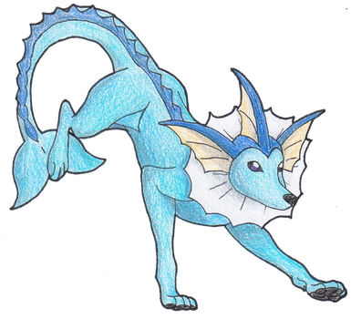 #134 Vaporeon by AbsoL-G