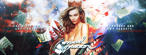 [ Wattpad Banner ] - Mad Queen by ineffablely