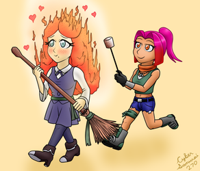 Gift: How to Roast a Marshmallow by CyberSamurai270