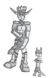 Jak and Daxter by jamez88