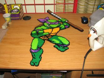 donatello perler by ndbigdi