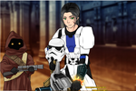 Shandor and Corporal Lance Hounddraw by TwistedWizzro343