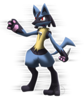 Lucario by Machaphasesix