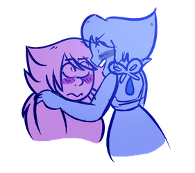 lapis x amethyst thingo by sylava