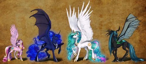 Preview: Pony Royalty by Earthsong9405
