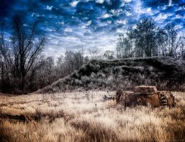 Lot Revisited (Infrared HDR) by KBeezie