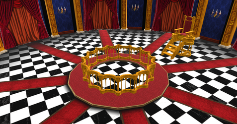 MMD Court Room DL by Oneirio