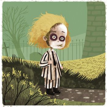 beetlejuice by berkozturk
