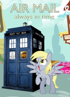 Derpy Air Mail by Dowlphin