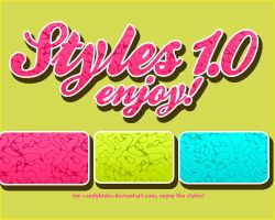 Styles 1.0 firts pack psd! by CandyBiebs