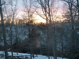 Porch Sunset 1 by JustinGreene
