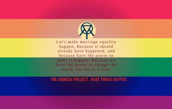 Marriage Equality, Now. by Project-Posters