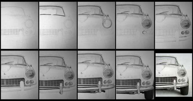 Wip of  TRIUMPH GT6, 1967 by ericstavros