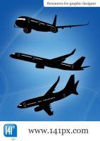 Package of 3 ariplanes by 141px-com