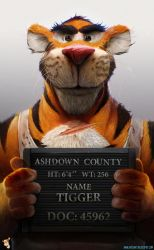 TIGGER - by DanLuVisiArt