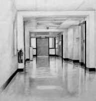 Hallway Perspective by Pyrosity