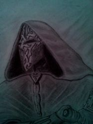 Ancient Sith lord figure by Vipers1