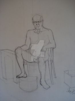 Figure II InClass Drawing 1 by PencilViking