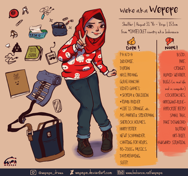Wepepe - Meet the Artist by WePePe