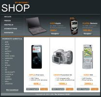Web Shop by taifunas