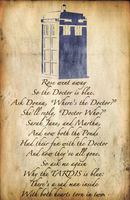 Why The TARDIS Is Blue. by DylanJohnson
