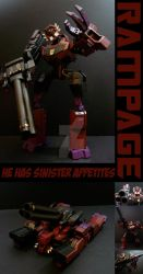 TFA Beast Wars Rampage by Gizmo-Tracer