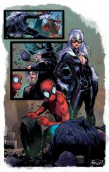 Amazing Spiderman page Coloring by GiuliaPriori