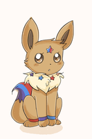 Libra the Eevee by AnySketches
