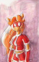 Watercolor test on Lammy by ThePandamis