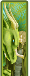 Fantasy Bookmark by DreamingRed