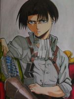 Levi-Attack on Titan by mayumey12
