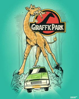 GIRAFFIC PARK by rhobdesigns