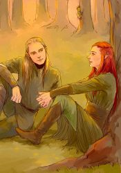 legolas, tauriel, and... by mformadness
