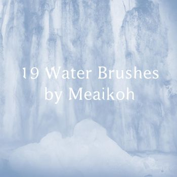 Freakin' Huge Water Brushes by meaikoh