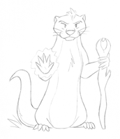 Otter Wizard by tymime
