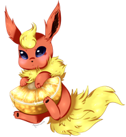 Fruity Flareon by beanbunn